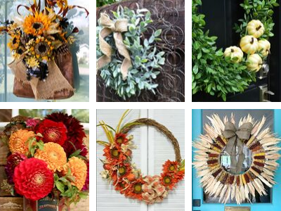 6 Stunning Fall Wreath Ideas