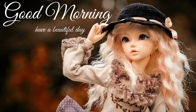 good morning barbie doll image