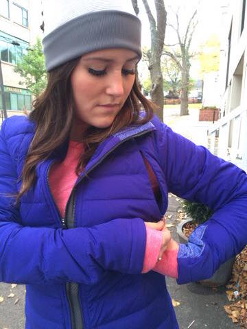 lululemon pigment fluffed up jacket