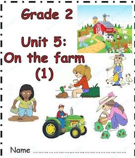 مذكرة الوحدة الخامسة في اللغة الانجليزية للصف الثاني الفصل الثاني