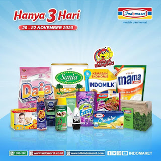 Katalog Promo Weekend JSM INDOMARET Periode 20 - 22 November 2020