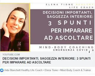 ✔ Decisioni Importanti, Saggezza Interiore: 3 Spunti Per Imparare Ad Ascoltare 💖 | Elena Tione Healthy Life Coach | Sollievo Per Il Dolore Pelvico Femminile