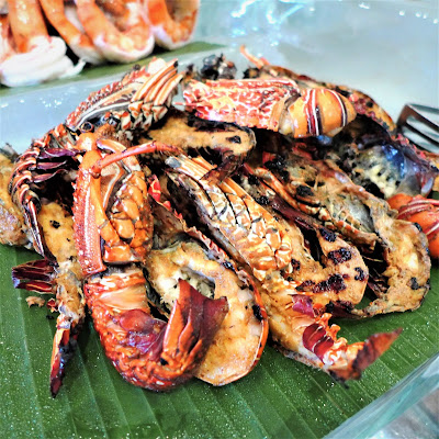 lobster with balinese spices