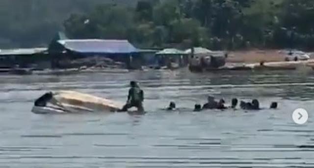 Sembilan Orang Hilang, Ini Detik-detik Kapal Wisata Kedung Ombo Tenggelam