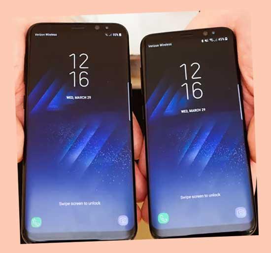 galaxy s8 samsung smartphone