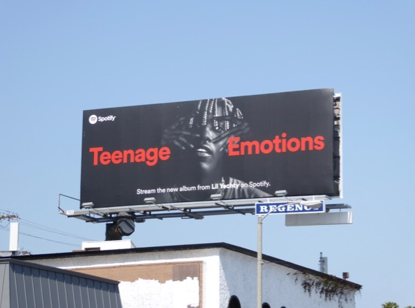 Teenage Emotions Lil Yachty Spotify billboard