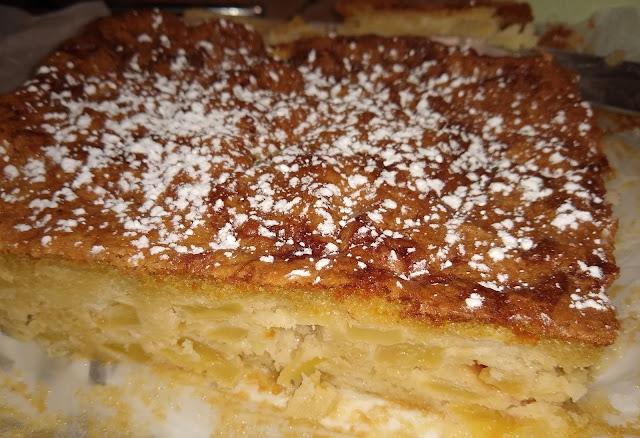 Gâteau rapide aux pommes