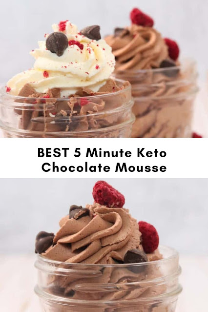 BEST 5 Minute Keto Chocolate Mousse