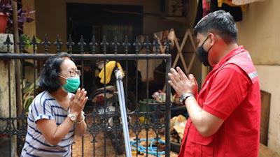 Pastikan Jaringan Normal, Direksi Telkom Tinjau Lokasi Terdampak Banjir Jakarta