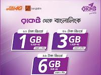 Banglalink Internet offer from Rocket  Recharge