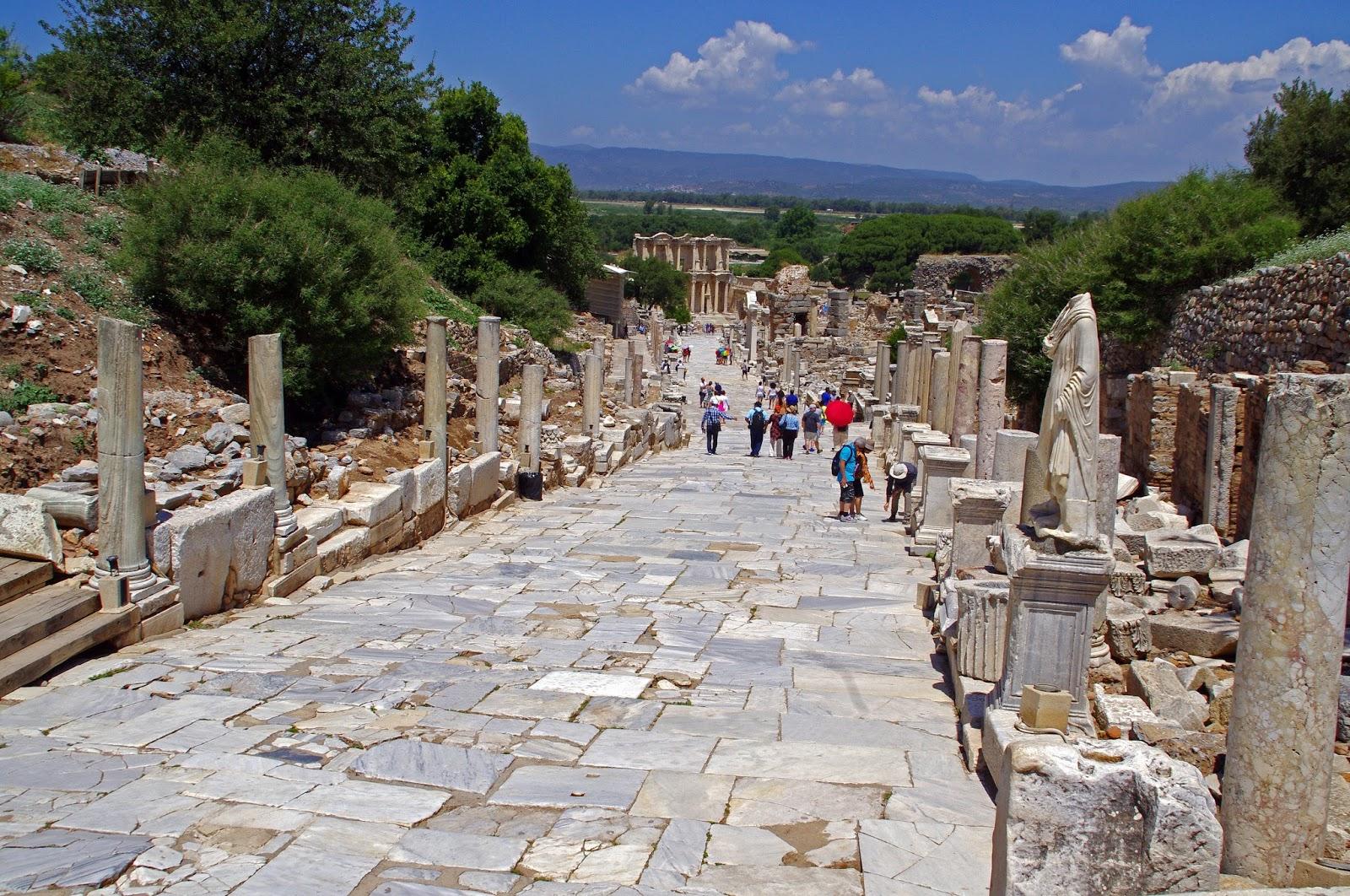 Ephesus Turkey Main Street