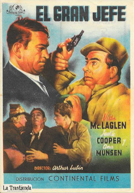 El Gran Jefe - Programa de Cine - Victor MacLaglen - Jackie Cooper