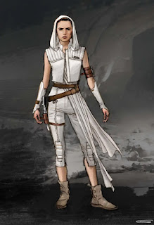 Rey's Alternate costume by Glyn Dillon