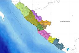 Peta Bengkulu Tengah, Utara, Selatan HD: Lengkap dan Jelas