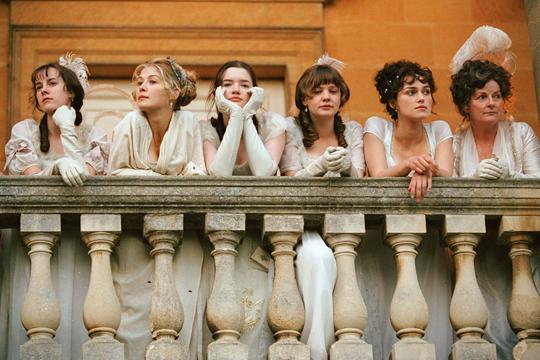 Las mujeres Bennet en Orgullo y prejuicio - Cine de Escritor