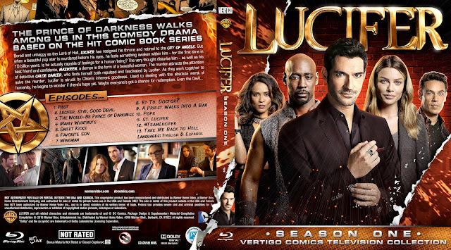 Capa Bluray Lucifer Primeira Temporada