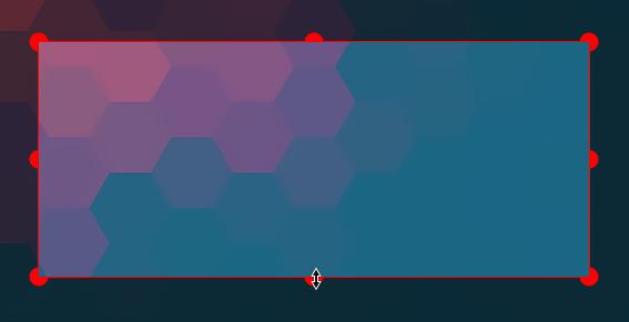 Ksnip resize rectangle
