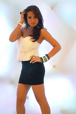 rok mini longgar rok mini lampu