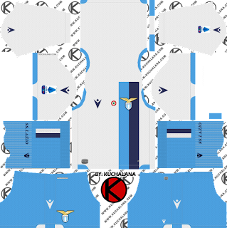 S.S. Lazio 2019/2020 Kit - Dream League Soccer Kits