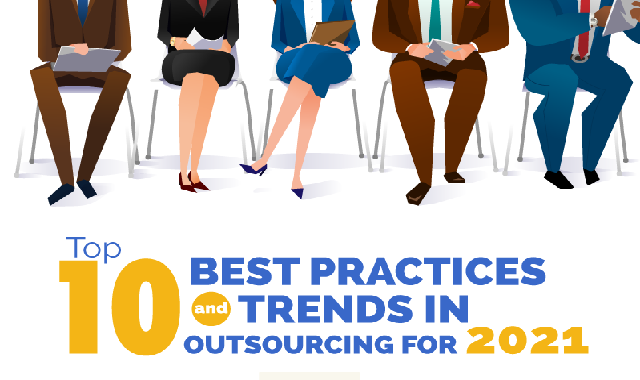 Top 10 Best Practices and Trends in Outsourcing for 2021 #infographic