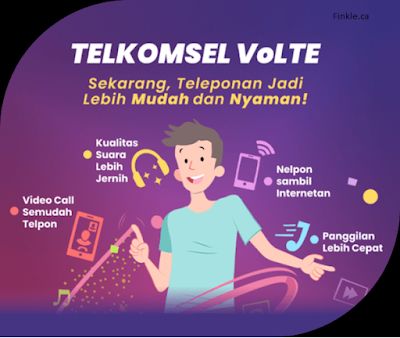 Jangkauan VoLTE Telkomsel Jaringan 5G