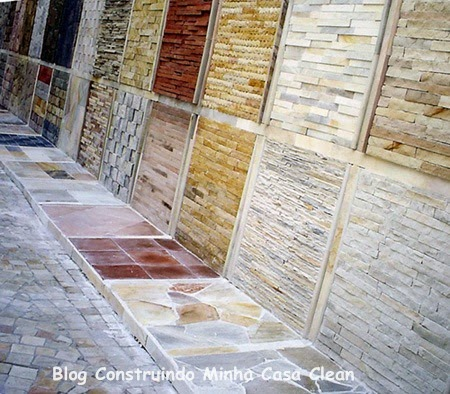Construindo minha casa clean paredes com pedras - Nivelador de piso ceramico leroy merlin ...