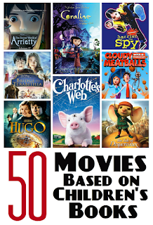 Top 50 films based on children's books