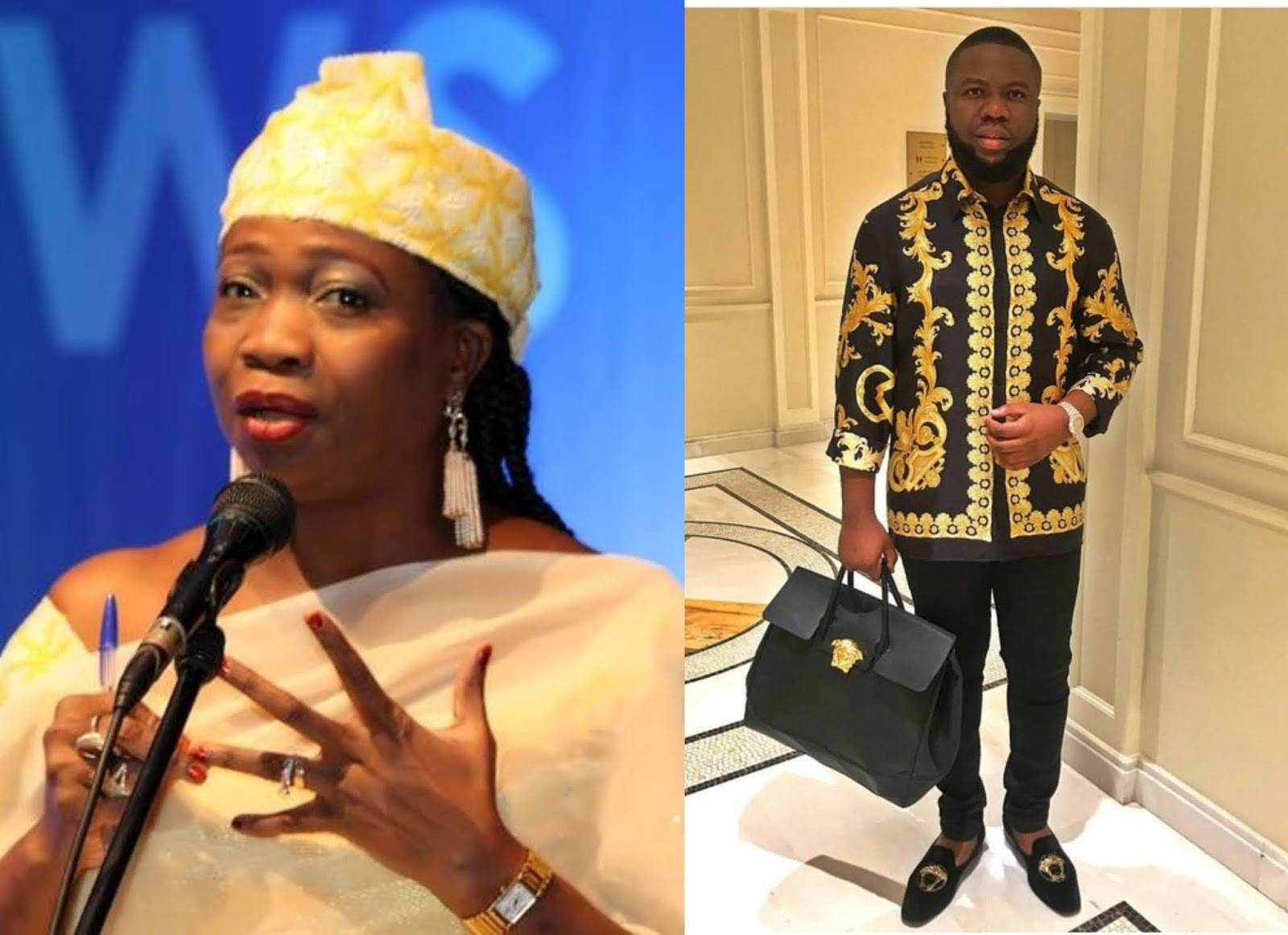 Don't judge Nigerians succeeding abroad – Abike Dabiri-Erewa reacts to Hushpuppi's arrest