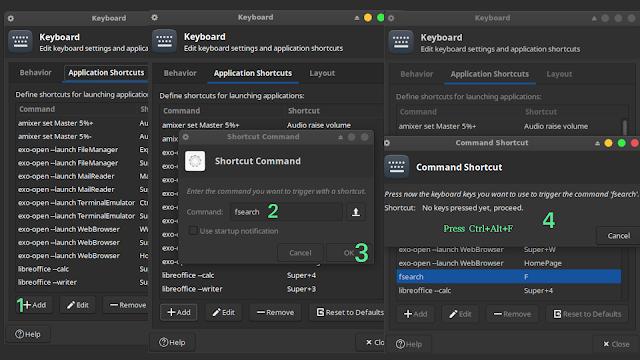 How to Create Shortcut on Xubuntu linux