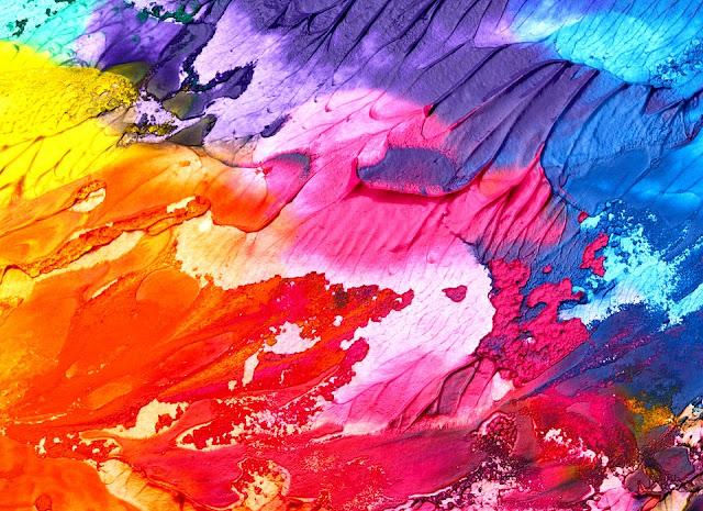 الألوان و التدرجات اللونية