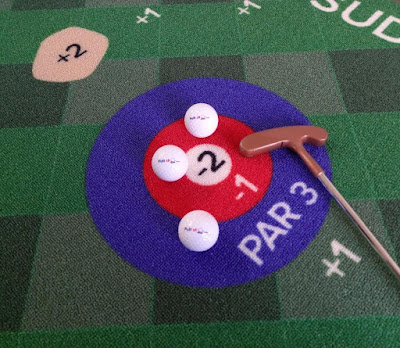 Putt18 Golf Putting Game Mat