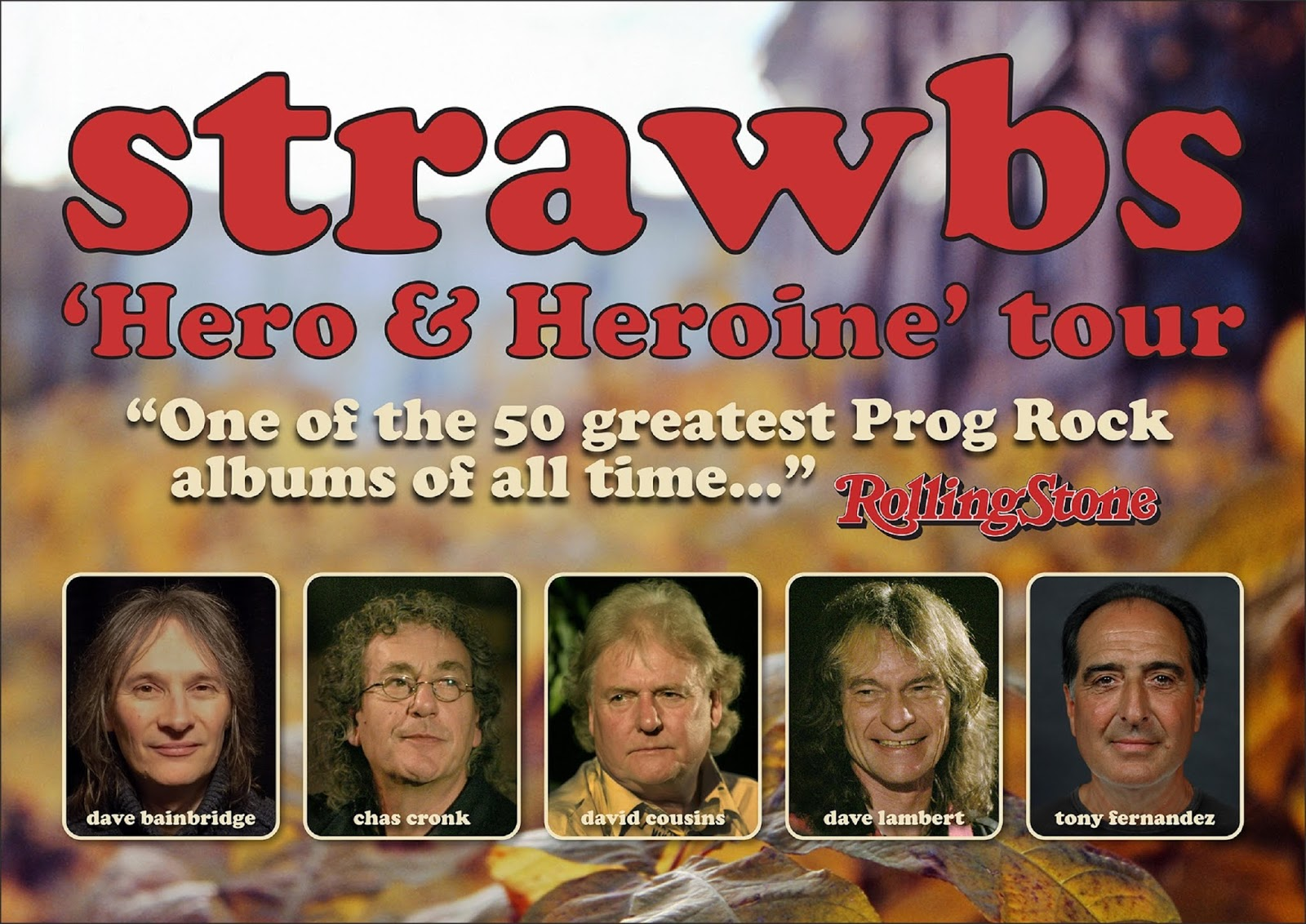 Classic Rock Here And Now: DAVID COUSINS & THE STRAWBS CELEBRATE 50