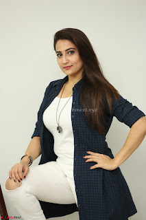 Manjusha in White Tight T Shirt and Black Jacket ~ Exclusive Celebrities Galleries 016