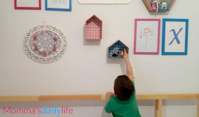 παιδικό δωμάτιο διακόσμηση τοίχων