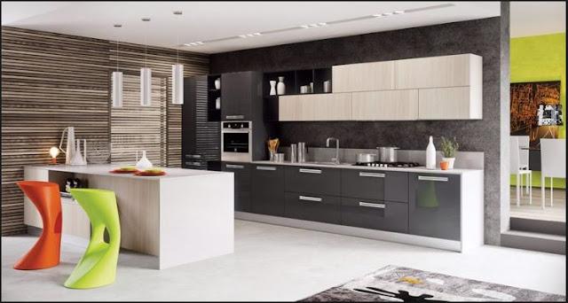 Thiết kế và bố trí bếp đẹp toàn diện với phụ kiện tủ bếp inox