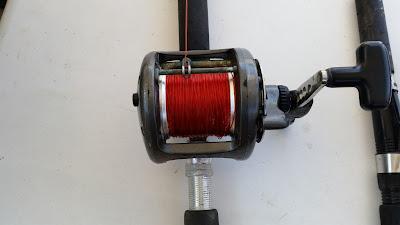Materiales de pesca de Yayo en sus viajes