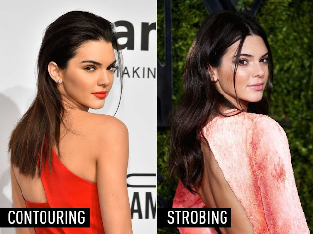 Difference between Contouring and Strobing