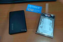 Review Casing Harddisk External Orico 2,5 Inci HDD Enclosure