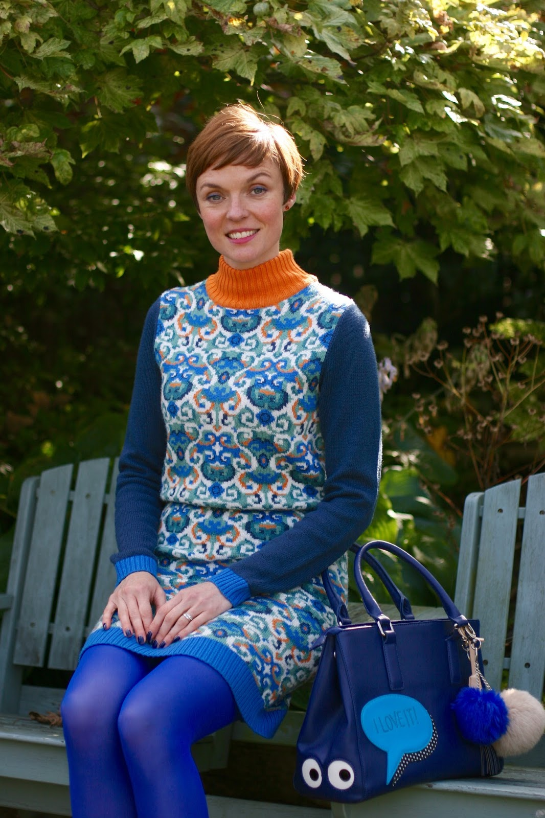 Wearing a Jumper dress with colour | Fake fabulous