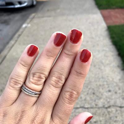 essie rocky rose-manicure monday-essie polish