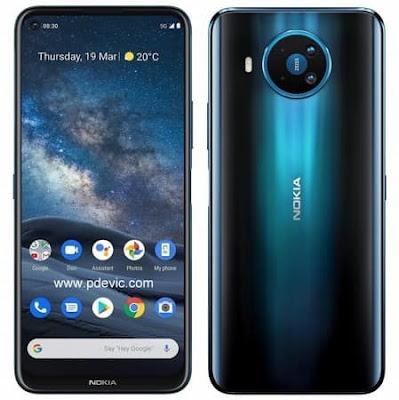 Layar dan Bodi Nokia 8.3 5G