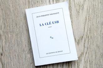 Lundi Librairie : La clé USB - Jean-Philippe Toussaint