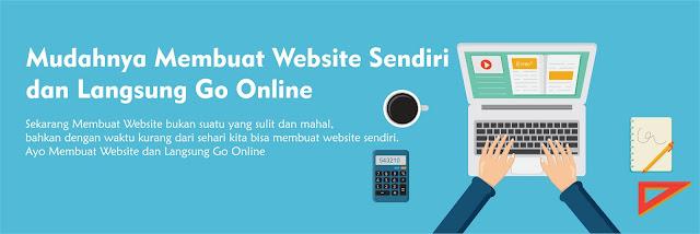 Mudahnya Membuat Website Sendiri dan Langsung Go Online