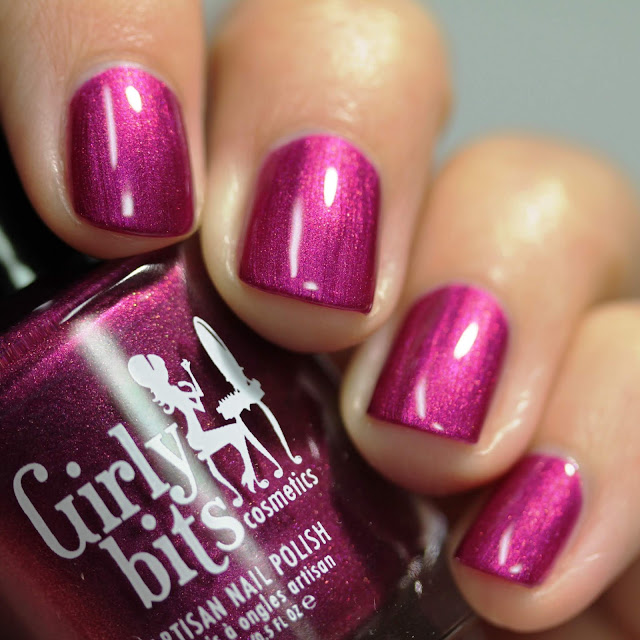 Girly Bits Beets Me swatch by Streets Ahead Style