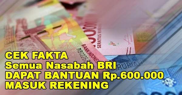 Viral Dapat Transfer 600.000 di Rekening BRI