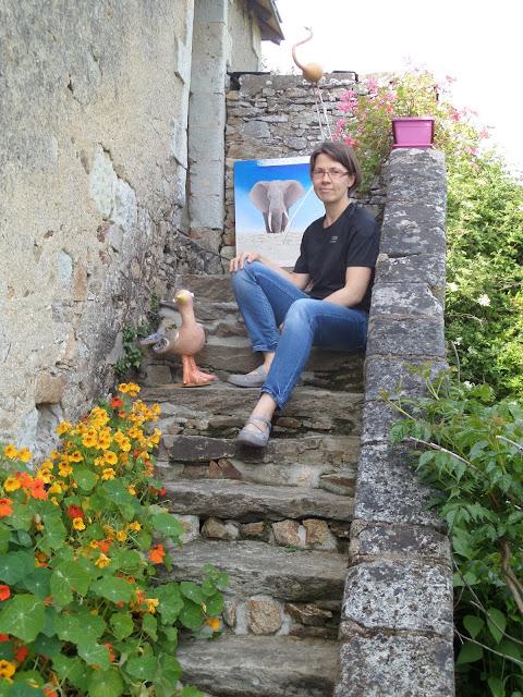 atelier mimi vermicelle cours peinture mosaique dessin stages savenay loire atlantique par artiste professionnel severine peugniez