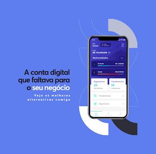 Conta Digital PJ Gratuita (Pessoa Jurídica - Empresas ou MEI)  - Sem Mensalidade - Para Itapema, Balneário Camboriú, Itajaí SC e Região