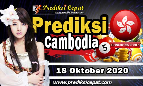 Prediksi Togel Cambodia 18 Oktober 2020