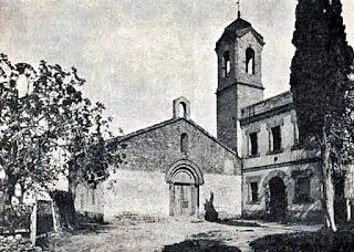 La ermita sin el añadido en su fachada norte (1910)