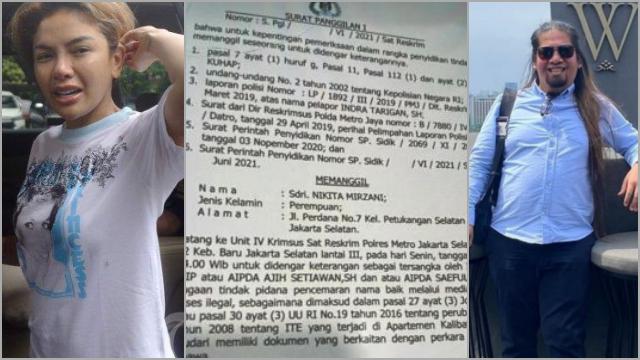 Nikita Mirzani Dikabarkan Jadi Tersangka Atas Laporan Indra Tarigan